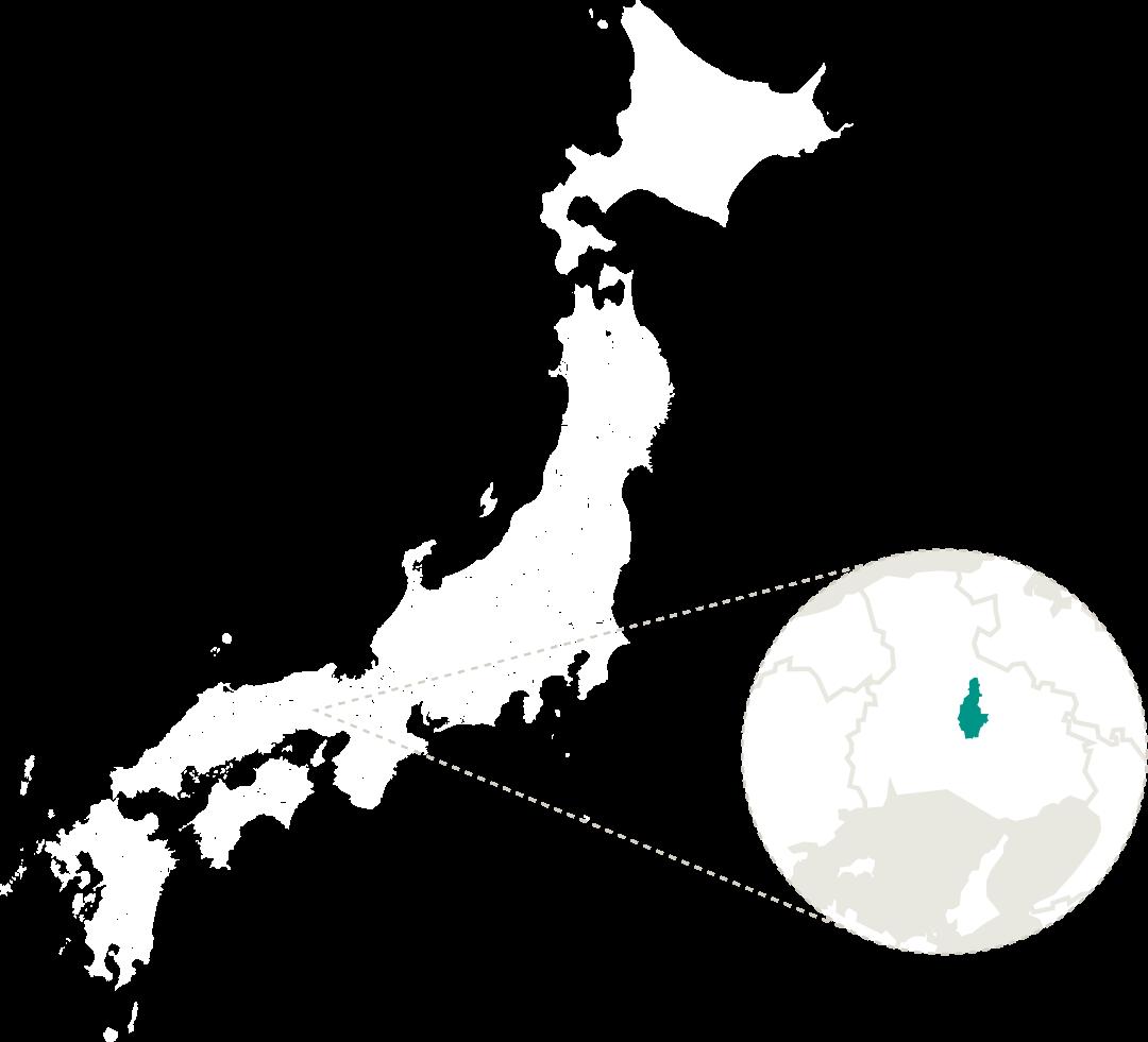 多可町の地図イラスト